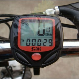 New Cycling Bike Bicycle Wired Cycle Computer Odometer Speedometer Waterproof
