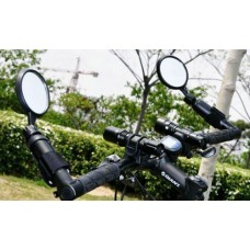 1pair New Cycling Bike Bicycle Handlebar reflector Glass Rearview Mirror Safety