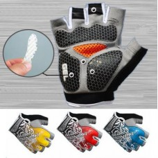 20 pairs New Fashion Cycling Bike Bicycle GEL Shockproof Sports Half Finger Glove M-XL