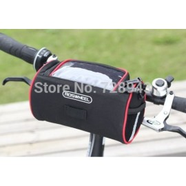 2014 New Arrival!! ROSWHEEL Cycling Folding Bike Bicycle Front Basket 300D Handlebar Bar Bag Shoulder Bag Drop Shipping 1 order