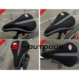 2014 New Cycling MTB Bike Bicycle Memory Foam Saddle Seat Cover Cushion Soft Pad