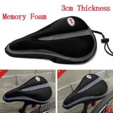 2014 New Cycling MTB Bike Bicycle Memory Foam Saddle Seat Cover Cushion Soft Pad