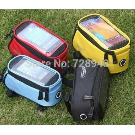 "2014 New Update! New ROSWHEEL New Outdoor cycling Bike Bicycle Frame Front Tube Bag Case 4.2""/4.8""/5.5"" Hottest 7-colors"