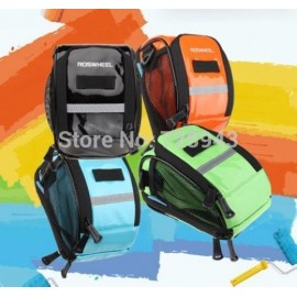 2014 New Updatedl!! ROSWHEEL Fashion Cycling Bike Bicycle Waterproof PU Handlebar Bar Bag Shoulder Bag 4-Color
