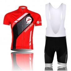 2014 Red And Black Cycling Jersey Bike Short Sleeve Sportswear Cycling Clothing +Bib Shorts CD9007
