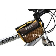 2014 new Cycling Bike Bicycle bigger style Frame Pannier Front Tube Bag yellow