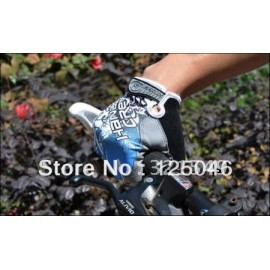 2014 skull design anti-skid wear breathable breathable bicycle bike cycling glove mitten,S/M/L/XL black top quality