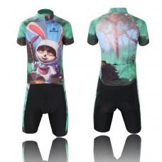2015 Children Boys Cycling Jersey Bike Short Sleeve Sportswear Cycling Clothing +Bib Shorts CC0411