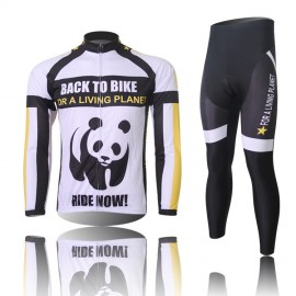2015 Cycling jersey Cycling Sportswear Bicycle Jersey Mens Winter Clothing Bicycle Long sleeve jersey + bib Short