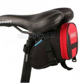 8-color Cycling Bike Bicycle Rear Seat Saddle 1L Tail 600D Bag Quick Release