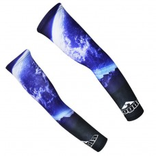 Car Moto Cycling Bike Bicycle UV Sun Protection Arm Warmers Cuff Sleeve Cover CC4056