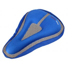Cycling MTB Bike Bicycle Memory Foam Saddle Seat Cover Cushion Soft Pad Blue