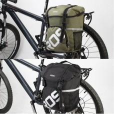 Fashion Cycling Bike Bicycle 15L Rear Seat Bag Unilateral Tail Rack Pack Handbag