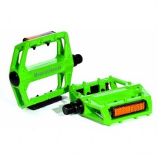 "Green New Universal Bike Bicycle Foot Tread Aviation Aluminum Pedals 9/16"" Axle"