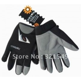 Motorcycle Cycling Bike Wearable Bicycle Sports Full Finger Gloves M-XL Black