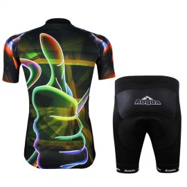 New Cycling Bike Clothing Bicycle Wear Suit Short Sleeve Jersey + Shorts S-3XL CC2004-1