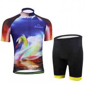 New Cycling Bike Clothing Bicycle Wear Suit Short Sleeve Jersey +Shorts S-3XL CC2017-1