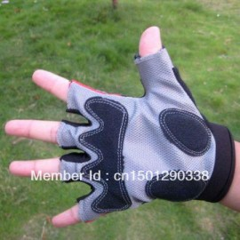 New Cycling MTB / Road Bike Bicycle Wearable Half Finger Glove Black size M/L/XL