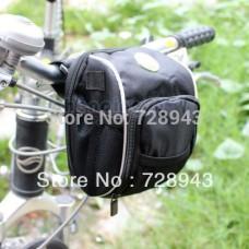 New Multifunction Waist Pack Cycling Bike Bicycle Handlebar Bag With Rain Cover
