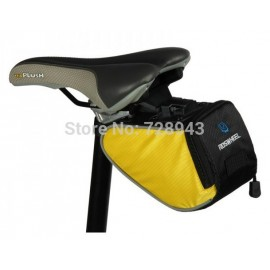 New UPdated!!!Roswheel Bike bicycle mountain Bag Monkfish Shape Saddle Seat Rear Bag Quick Release 3 colors Free shipping